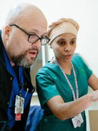 Healthcare Workforce Photography