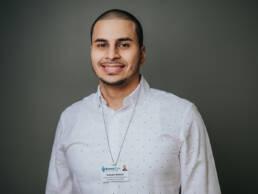 IT healthcare worker portrait