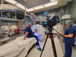 Healthcare equipment video production