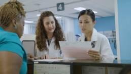 ER Doctor Examines EKG