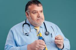 portrait of pediatrician doctor